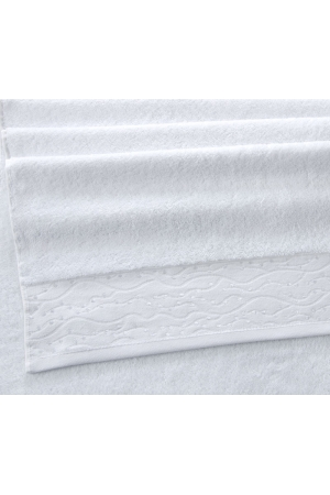Полотенце махровое Премиум Айова белый, 500г/м