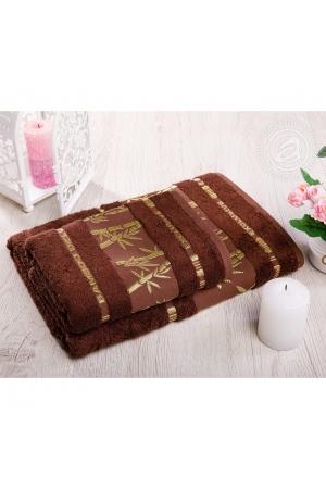 "Набор полотенец ""Бамбук"" шоколад, 500г/м"