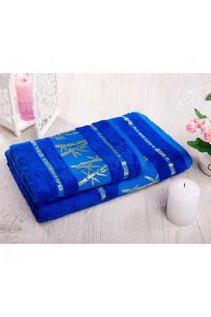 """Набор полотенец """"Бамбук"""" ярко-синий, 500г/м"""