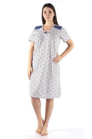 Ночная сорочка Марфа сирень КС-13
