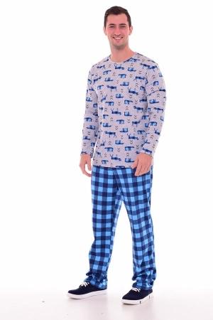 Пижама мужская 9-147 (синий)