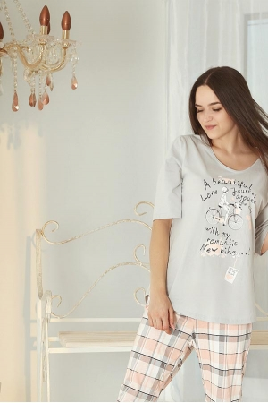 Пижама Bon Aventure кварц 211221