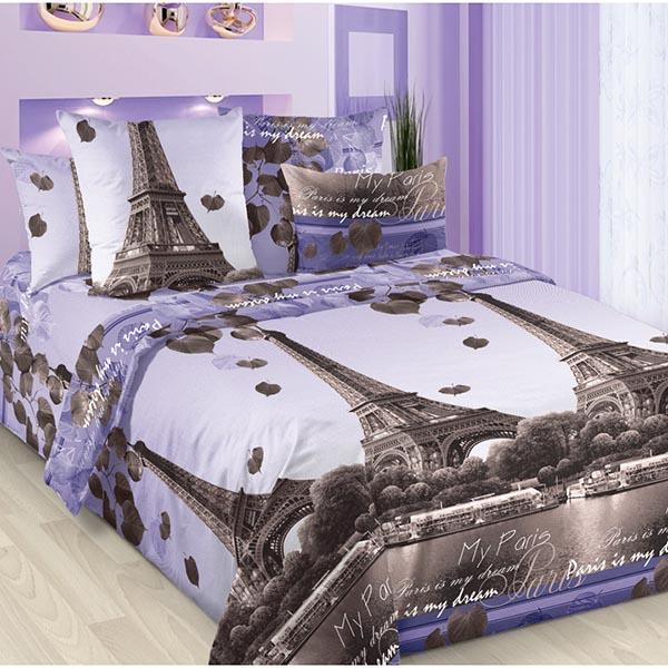 Романтика Парижа постельное белье бязь