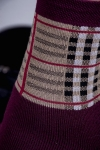 Носки Шотландия женские плюш
