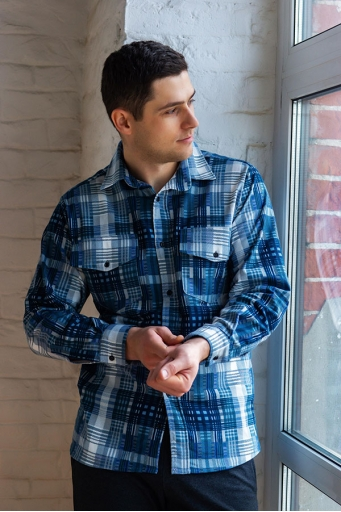Рубашка Фланель С Арт. 6958 распродажа