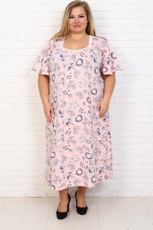 Сорочка Фламинго розовый НАТ-50-7