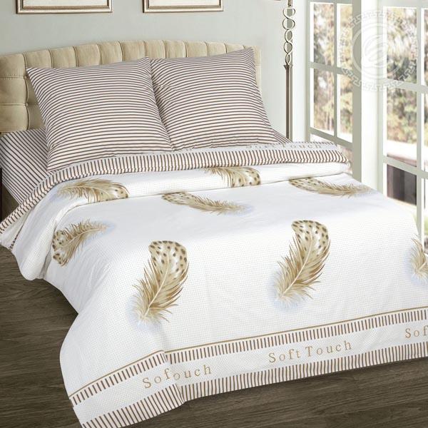 Прикосновение постельное белье поплин