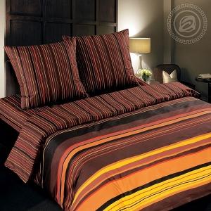 Шоколад постельное белье поплин