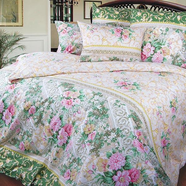 Римский дворик постельное белье перкаль