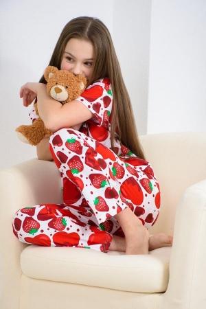 Пижама Клубника детская