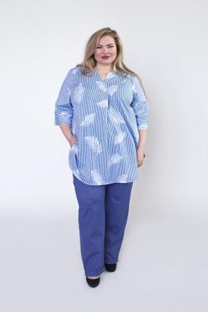 Рубашка Жизель перья РГ-01-5
