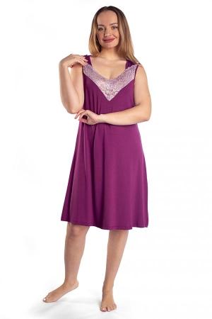 Сорочка Вероника вишня ВИ-67