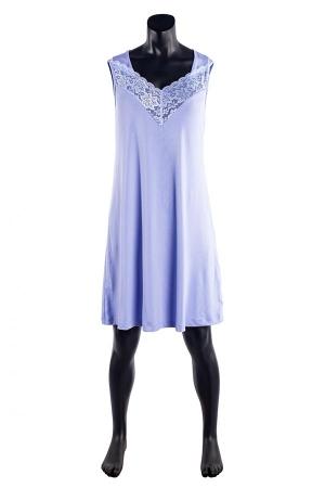 Сорочка Вероника голубой ВИ-67