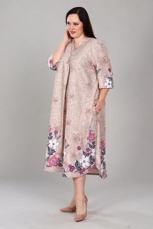 Платье Полынь мозаика ПГ-20-7