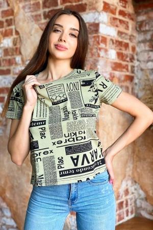 Женская футболка 8145