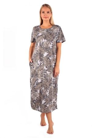 Платье Алекса листья К-334