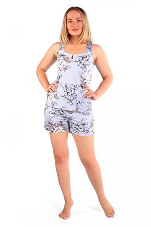 Пижама Каприз белая роза ВИ-88