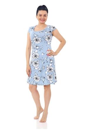 Платье Мишель серо-голубое ВИ-59