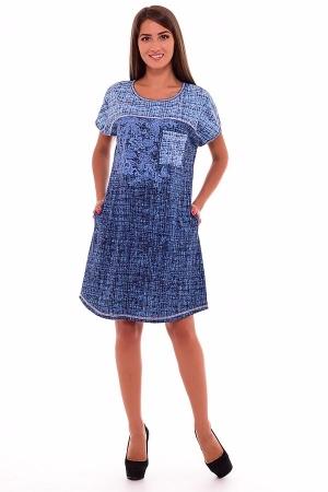 Туника женская 6-122 (синий)