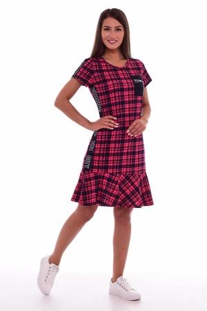 Платье женское 4-65 (малина)