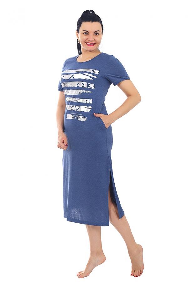 Платье Наоми индиго К-119