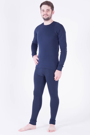 Комплект мужской 9-53б (тёмно-синий) термобельё