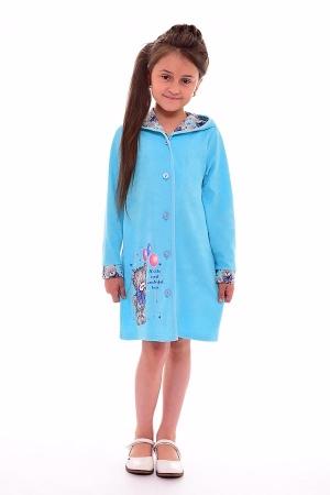 Халат детский 7-130а (голубой)