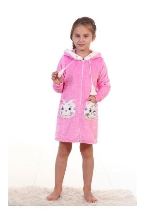 Халат детский 7-115 (розовый)