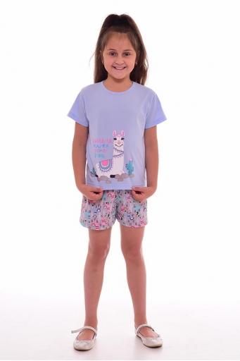 Пижама детская 7-207б (голубой+розовый)