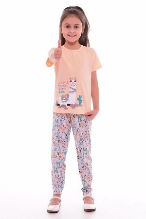 Пижама детская 7-189г (персик)