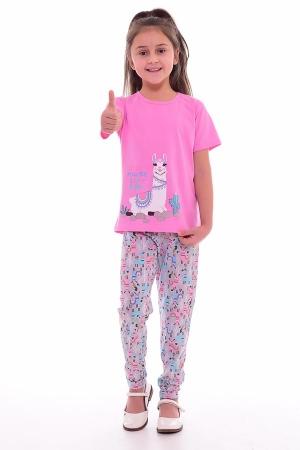 Пижама детская 7-189а (розовый)