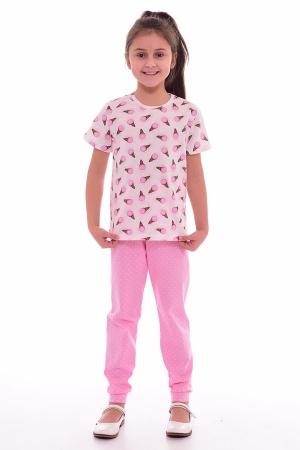 Пижама детская 7-191а (розовый)