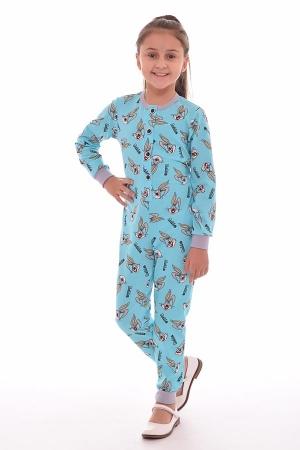 Пижама детская 7-178в (голубой)