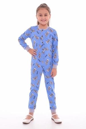 Пижама детская 7-178 (индиго)