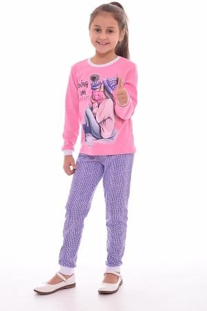 Пижама детская 7-175а (розовый)