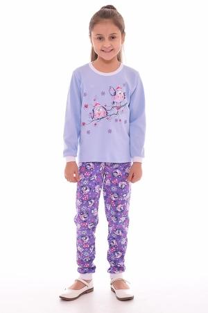 Пижама детская 7-175 (голубой)