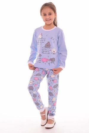 Пижама детская 7-173 (голубой)