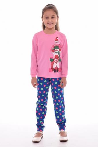 Пижама детская 7-168 (розовый)