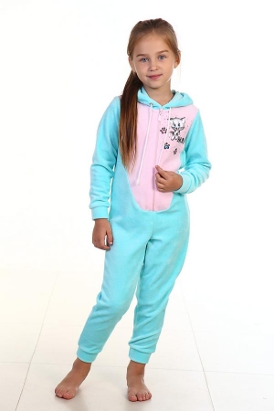 Пижама детская 7-95 (ментол)
