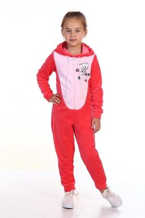 Пижама детская 7-95б (коралл)