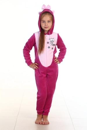 Пижама детская 7-95в (сирень)