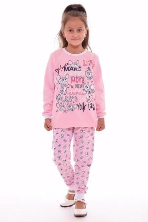 Пижама детская 7-159 (розовый)