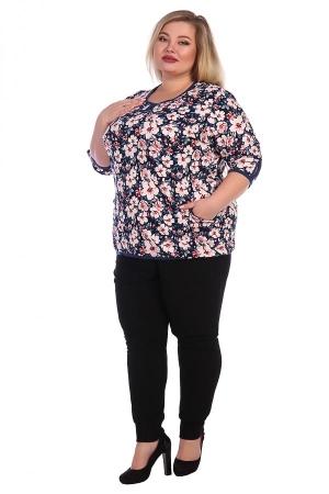 Блуза Цветы ТОЛ-05
