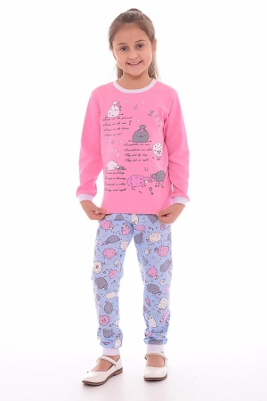 Пижама детская 7-173а (розовый)