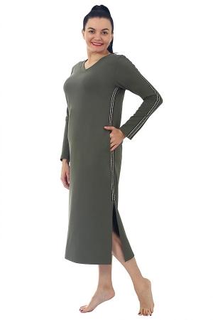 Платье Ингрид олива Ф-17