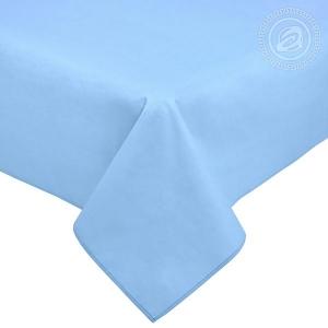 Простыня Византия голубая, поплин