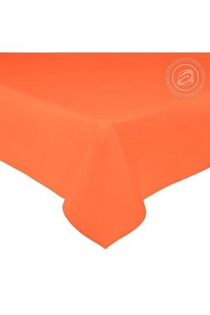 Простыня Оранжевая, сатин