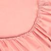 Простыня на резинке Розовая, сатин