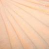 Плед Шиншилла персик, искусственный мех