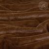 Плед Шиншилла коричневая, искусственный мех